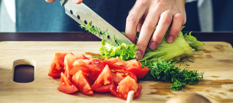 taglio verdure